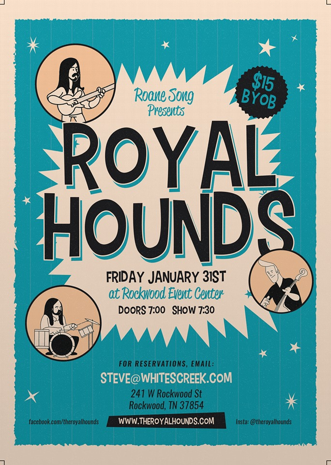 Royal Hounds Poster